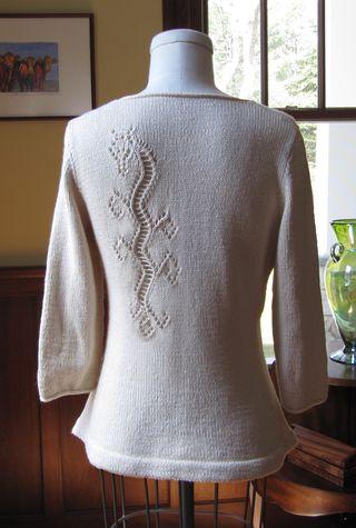 Dragon Lace Top back web
