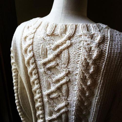 Lariana back detail mannequin